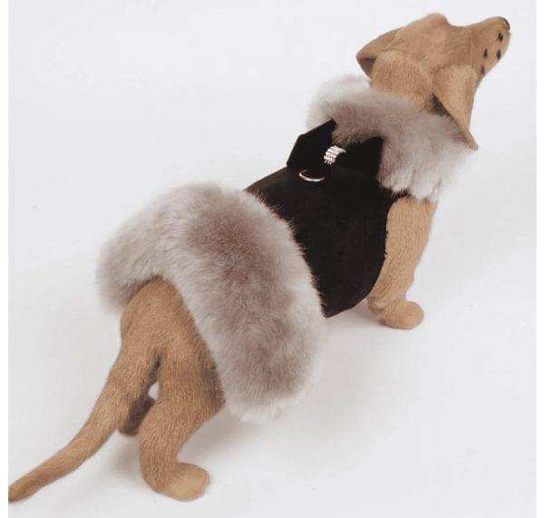 Fur Coat with Fox Fur