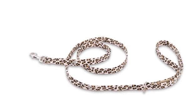crystal paws cheetah leash