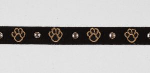 Embroidery Paws Collar