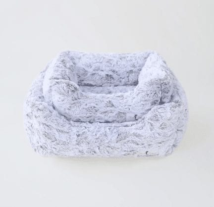 deluxe dog bed in prism