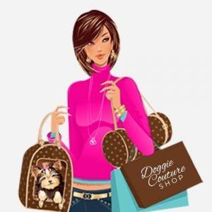 Doggie Couture Shop Logo Tee