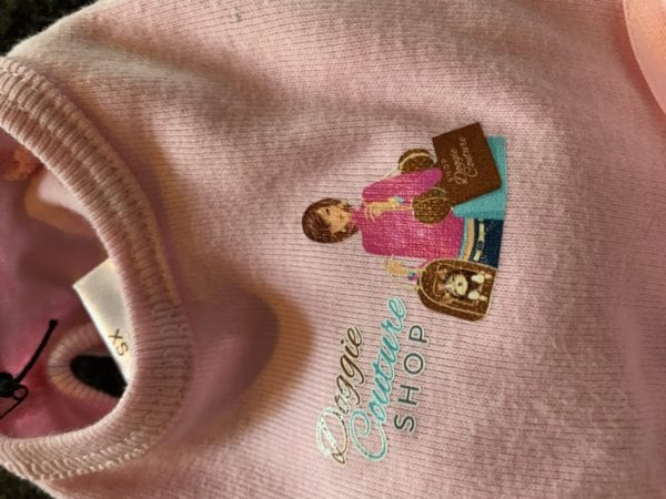 Doggie Couture Shop Logo Tutu Dress