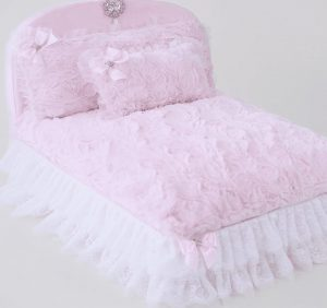 enchanted nights dog boutique in baby doll pink