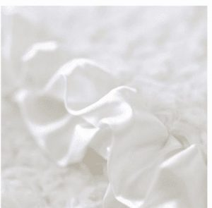 Baby Ruffle Dog Blanket in Cream