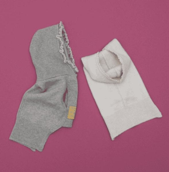 cashmere hoodie in 2 Colors