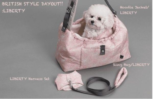 winter magic reversible dog carrier