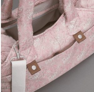 liberty tote bag in 2 colors in pink