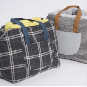 furaround dog bag in egyptian cotton