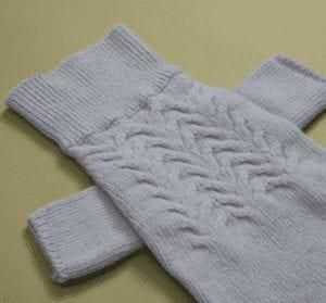 cashmere blend turtleneck in grey