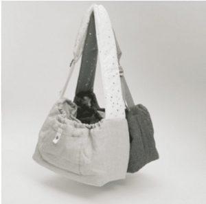 Irish Linen Dog Sling Bag in 2 colors