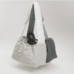 Irish Linen Dog Sling Bag in 2 colors