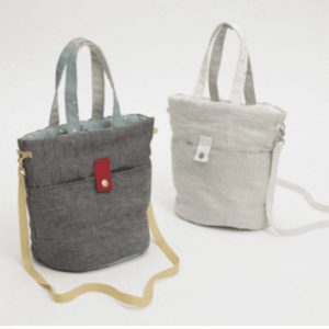 irish linen walking bag