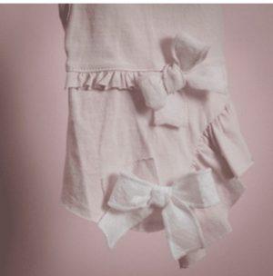 Vera Dog Dress in Nude Pink