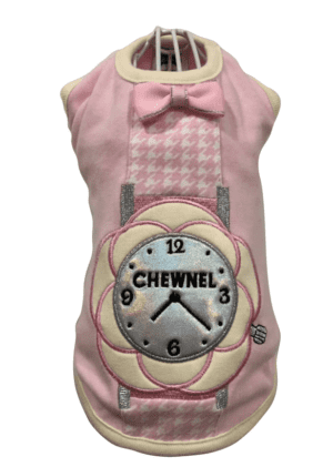 Pink Chewnel Watch Dog Tank