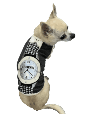 Black Chewnel Watch Dog Tank
