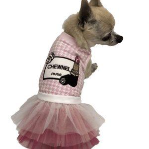 Chewnel Pink Rouge Tutu Dress
