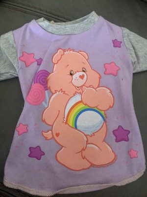 carebear vintage dog shirt in small