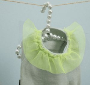 Wappan Dog Dress Couture in Mint