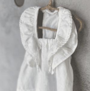 Linen Swing Dog Dress