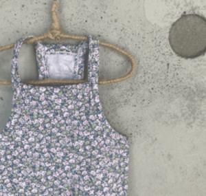 floral sleeveless dog tee