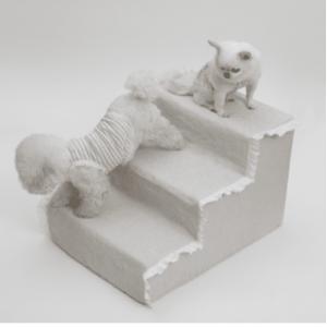 Irish Linen Dog Step