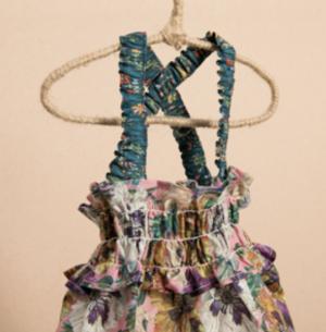 Liberty Fabric Sun Dress