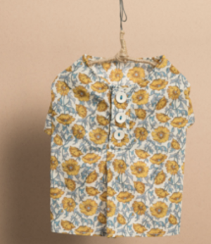Liberty Fabric Summer Dress Shirt