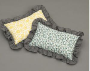 Liberty Frill Dog Pillow