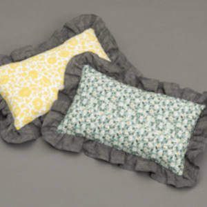 Liberty Frill Dog Pillow