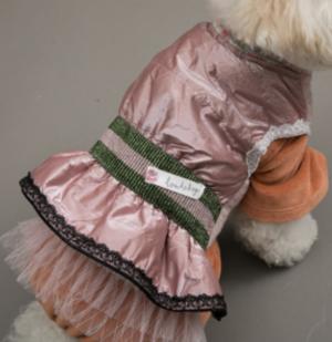 Velvety Magic Dog Dress