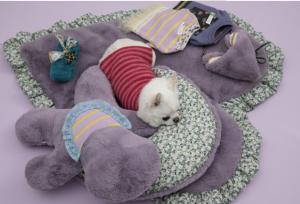 sweet eater dog pillow