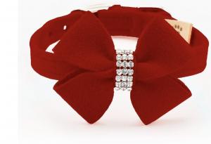 Nouveau Bow Dog Collar