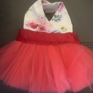 clearance floral tutu dog dress