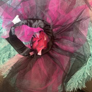 clearance pink and black tutu skirt