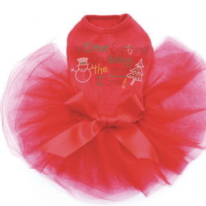 Clearance Dog Tutu Christmas Dress
