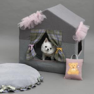 Peekaboo Couture Dog Bed
