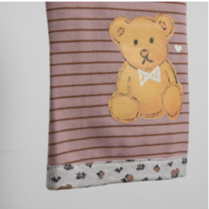 Honey Bear Stripes Dog Shirt