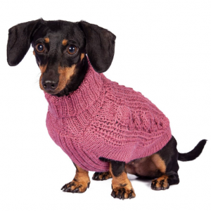 chunky alpaca dog sweaters