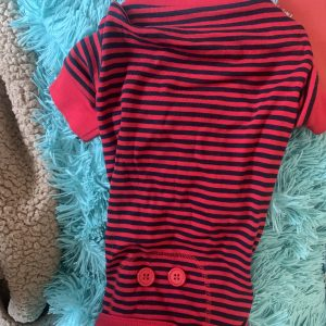 clearance blue and red dog pj