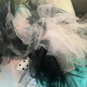 clearance light pink and black tutu