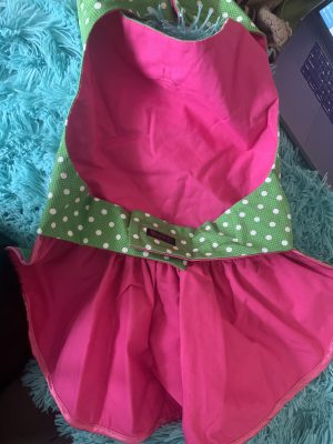clearance green dot sundress