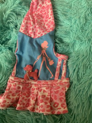clearance pink poodle dress