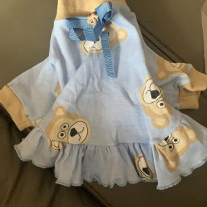 clearance blue bear dress