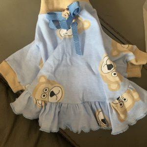 clearance blue bear dress