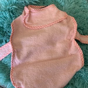 clearance pink towel/robe