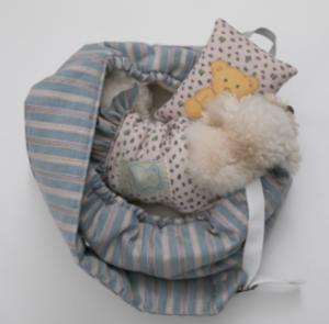 candy bar sling dog bag