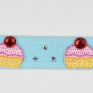 cupcake dog collar
