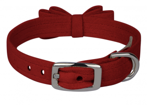 Big Bow 5/8 inch Dog Collar