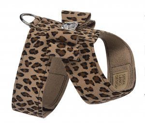cheetah couture big bow tinkie harness