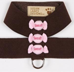 cheetah puffy sweets tinkie harness